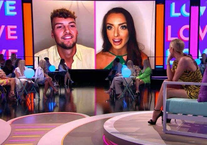Hugo Hammond and Amy Day butted heads on Love Island: Aftersun