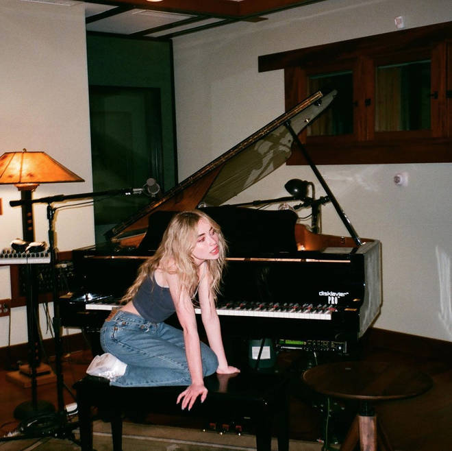 Sabrina Carpenter has been tirelessly working on the new music