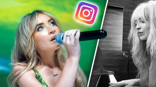 Sabrina Carpenter posts a snippet of song from new album on Instagram