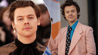 Harry Styles' famous moustache has returned!