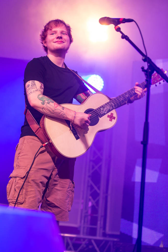 Ed Sheeran will be performing the intimate London show in September