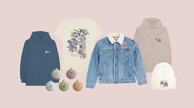 Shawn Mendes' winter merchandise is the perfect pastel collection of hoodies, hats and even baubles
