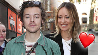 Harry Styles and Olivia Wilde are looking so loved up