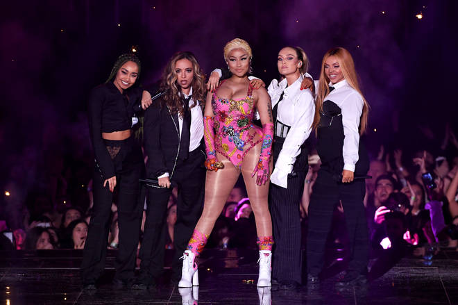 Little Mix have previously collaborated with Nicki Minaj