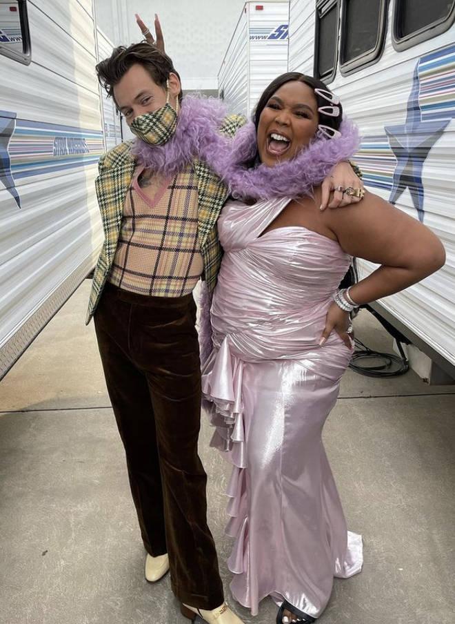 Harry Styles e Lizzo têm uma amizade superproxima