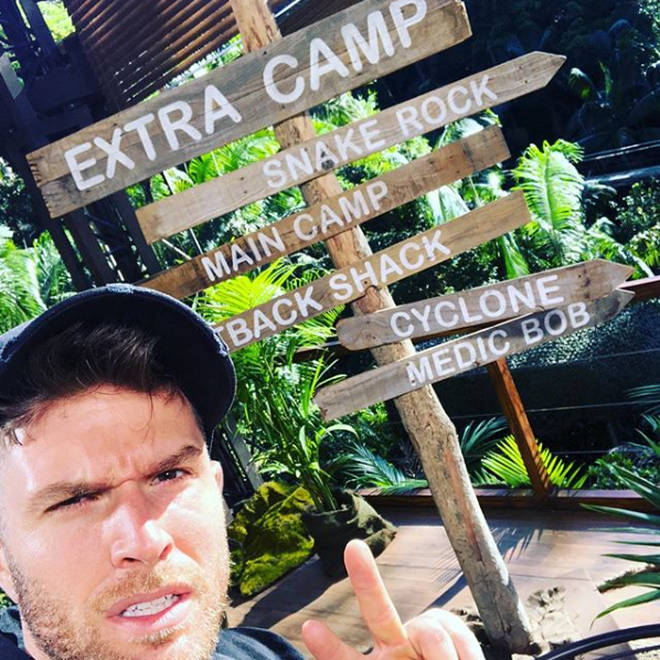 Joel Dommett is co-host of I'm A Celebrity... Get Me Out Of Here Extra Camp.