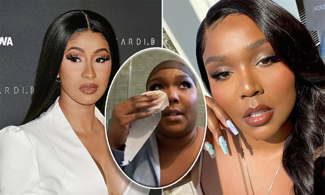 Cardi B has hit out at trolls after Lizzo revealed the vile comments she had received online