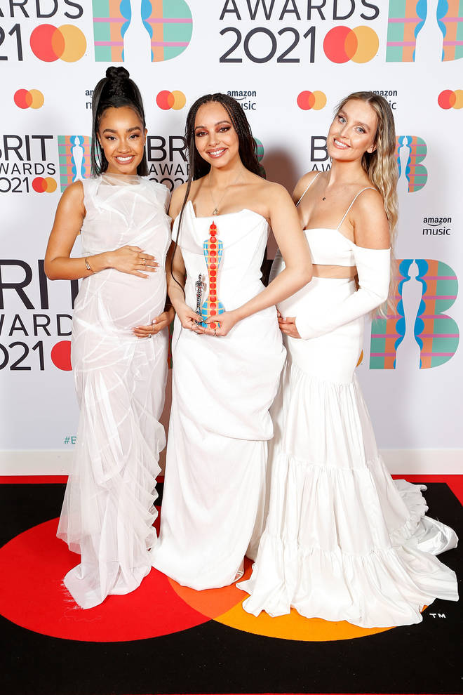 Leigh-Anne Pinnock and bandmate Perrie Edwards are both pregnant