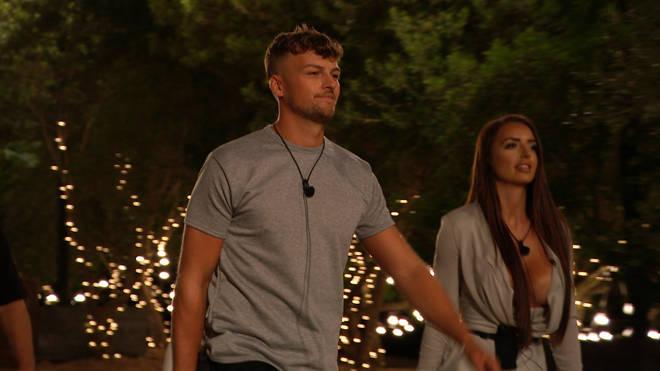 Love Island: Hugo called his villa experience 'tragic' while stood beside partner Amy