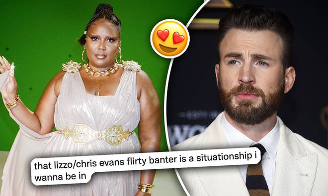 Lizzo had a very unfiltered response to the latest Chris Evans questions