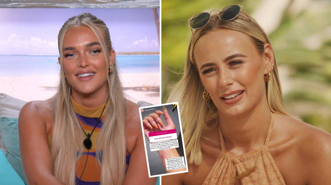 Love Island: Millie Court and Mary Bedford have matching tattoos