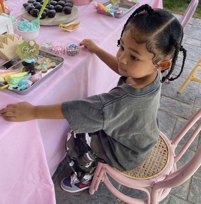 Kylie Jenner and Travis Scott share Stormi, aged 3
