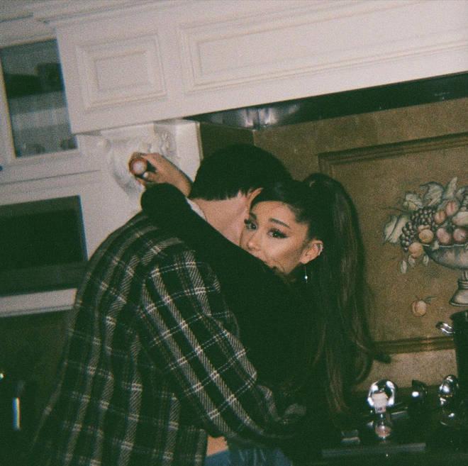 Ariana Grande shares more intimate snaps with husband, Dalton