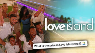 What prize do the Love Island winners get?