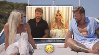 Fans can't stop talking about Jake and Liberty's awkward interview moment
