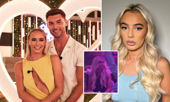 Lillie Haynes' reaction to Millie Court and Liam Reardon winning Love Island was captured on camera