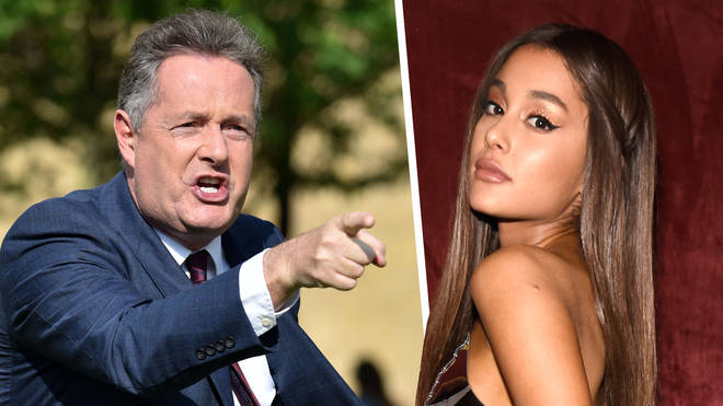 Ariana Grande has defended Little Mix and Ellen DeGeneres against Piers Morgan