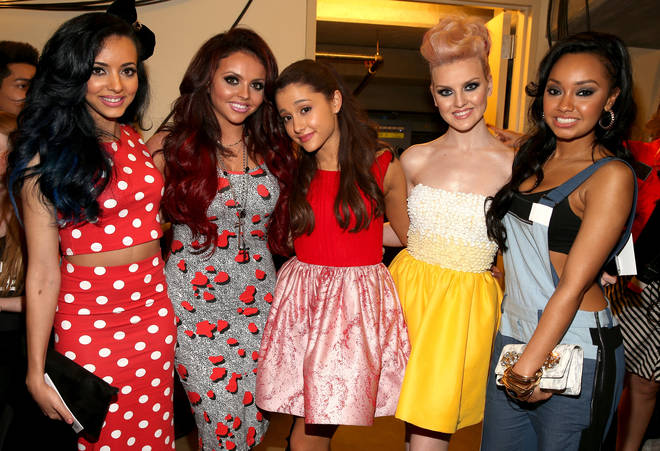 Ariana Grande was forced to defend Little Mix against Piers Morgan