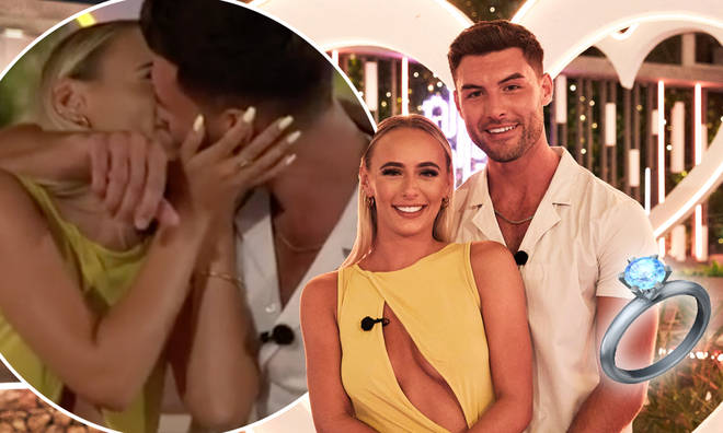 Love Island fans thought Liam was about to propose to Millie during the final