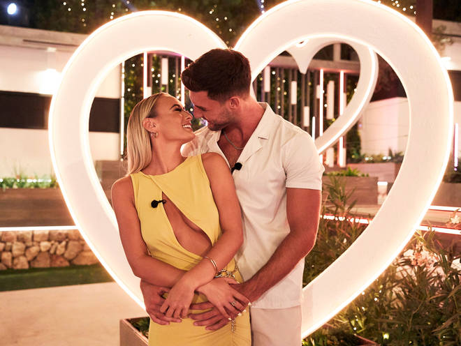 Liam and Millie are the winners of Love Island 2021