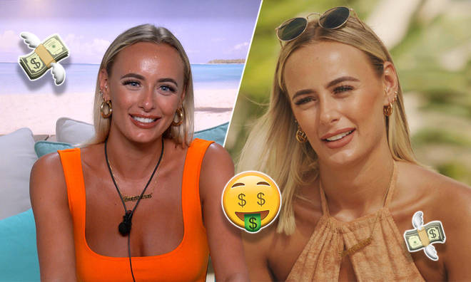 Millie Court is on track to becoming a millionaire after winning Love Island