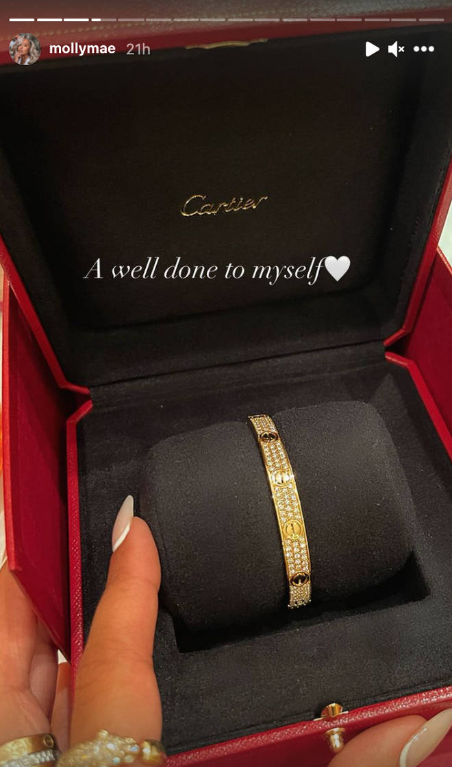 Molly-Mae Hague treated herself to a £37k bracelet after signing her latest fashion deal
