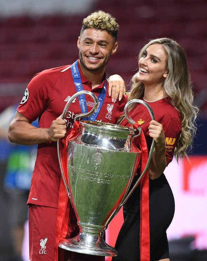 Perrie Edwards and Alex Oxlade-Chamberlain have become parents