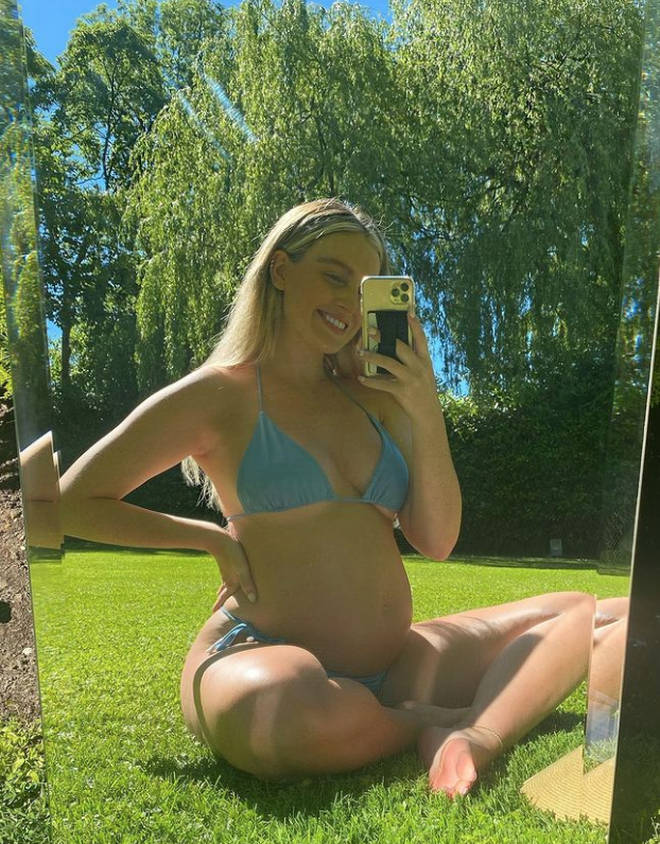 Perrie Edwards understandably kept much of her pregnancy off of social media