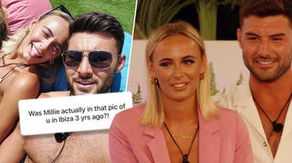 Liam Reardon denied the theory that he met Millie Court three years ago in Ibiza
