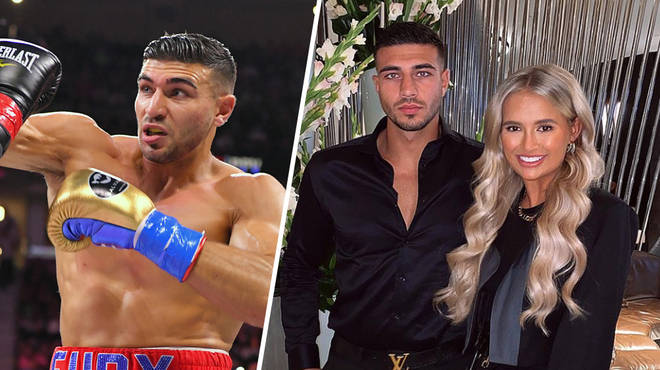Tommy Fury paid a sweet tribute to girlfriend Molly during his US boxing debut