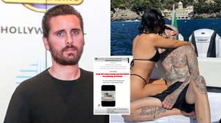 Scott Disick called out Kourtney Kardashian and Travis Barker's PDAs