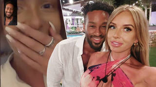 Love Island's Teddy and Faye had an adorable reunion after quarantining