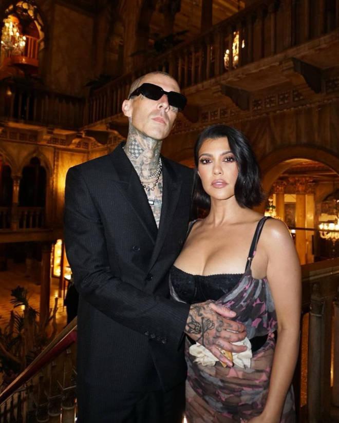 Travis Barker and Kourtney Kardashian are going strong