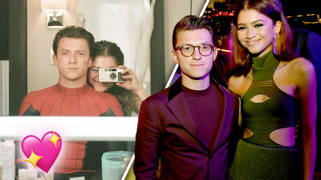 Tom Holland just went Insta' official with Zendaya