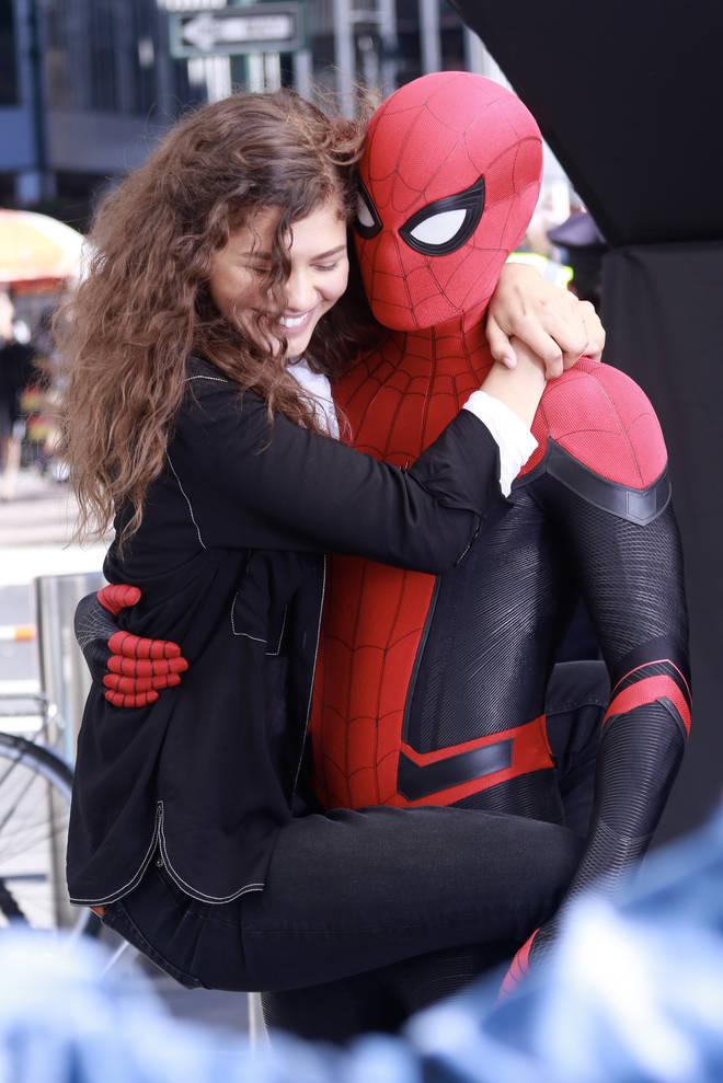 Tom Holland and Zendaya became friends on the Spider-Man film sets