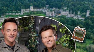 Production has started on set of I'm A Celeb... at Gwrych Castle