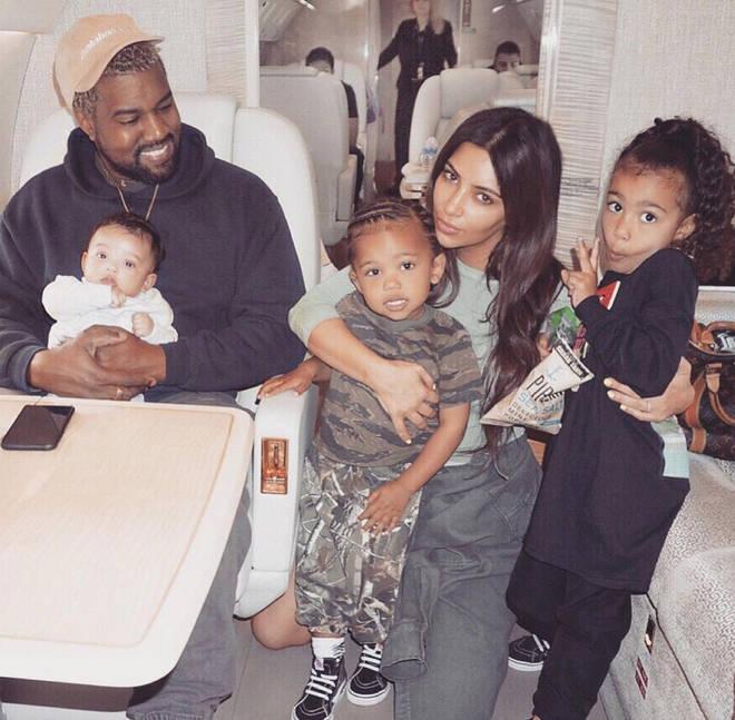 Kim Kardashian and Kanye have four kids together