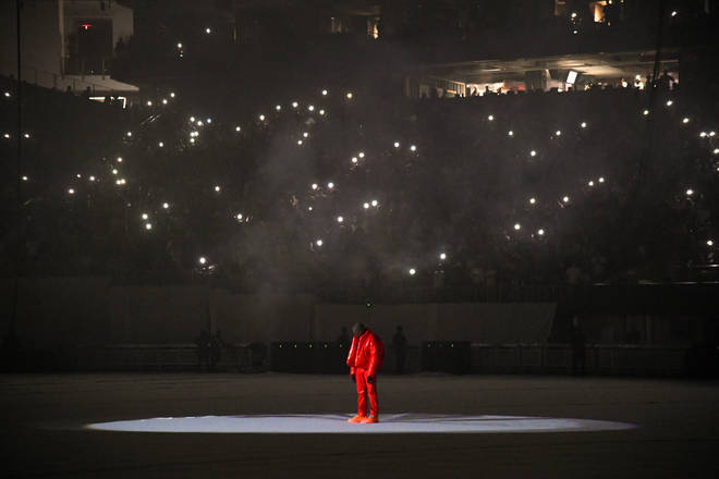 Kanye West held a listening party for the release of his album, 'Donda'