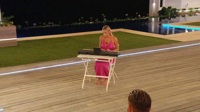Millie's piano performance during the Love Island talent show became a viral meme