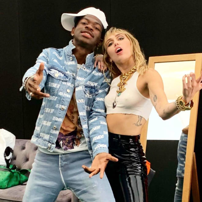 Miley Cyrus and Lil Nas X work together again