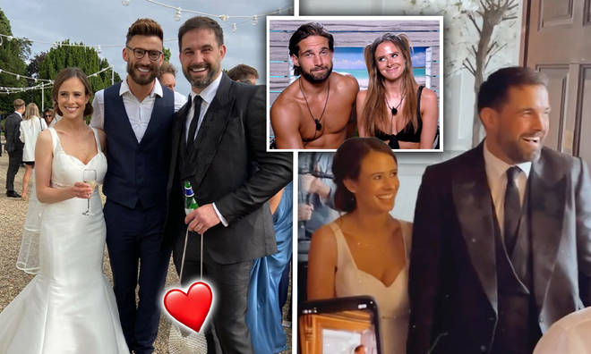 Camilla Thurlow and Jamie Jewitt are married!
