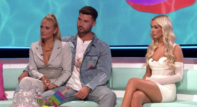 Love Island's Lillie came face to face with Liam and Millie