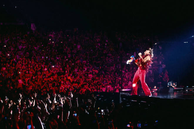 Harry Styles opened his Love On Tour in Vegas
