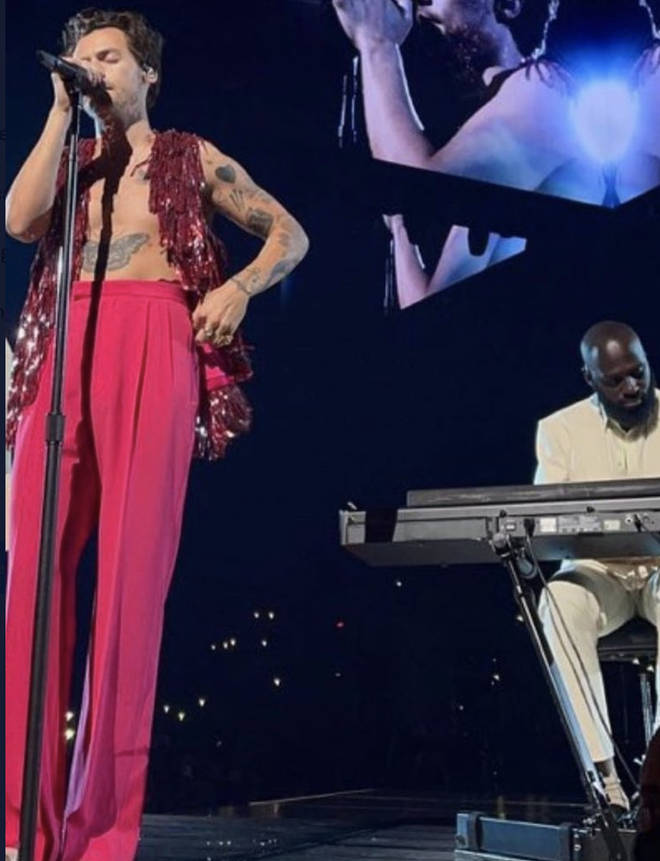 Niji Adeleye joined Harry Styles as his pianist in his band