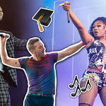 Who of your favourite pop stars went to uni?