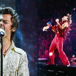 Harry Styles treated fans on tour to the unreleased 'Golden' lyrics