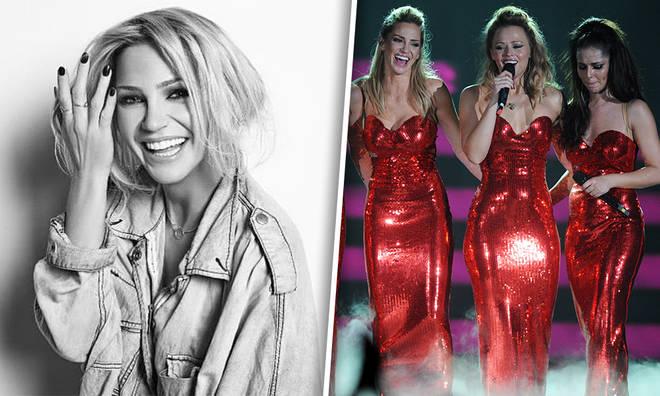 Girls Aloud's Cheryl and Kimberley Walsh have paid tribute to Sarah Harding