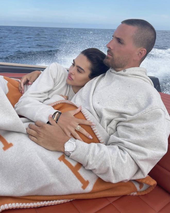 Scott Disick and Amelia Hamlin are said to be taking 'time apart'