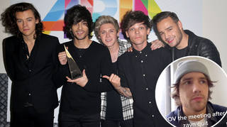 Liam Payne joked about the meeting his band had after Zayn quit 1D