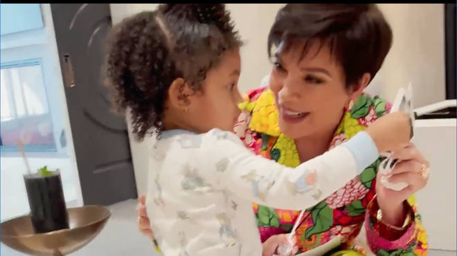 Kris Jenner is as excited as Kylie to welcome another baby into the family